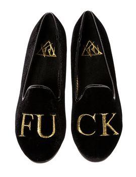 the-lowf-fu-ck-shoes-in-black-&-gold by yru