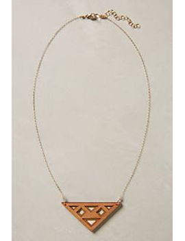 triangle-window-necklace by anthropologie