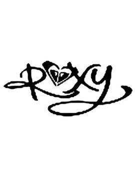 roxy-white-vinyl-decal-sticker by sticker