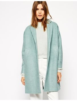 asos-coat-in-swing-trapeze by asos-collection