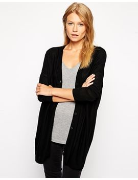asos-oversized-drape-cardigan by asos-collection