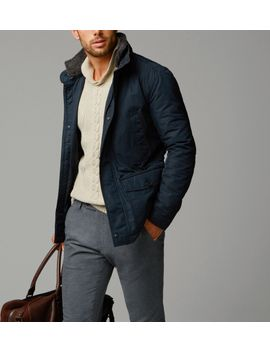 navy-parka-with-merino-collar by massimo-dutti