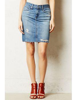 ag-denim-pencil-skirt by ag