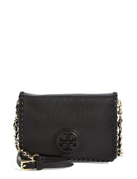 marion-leather-crossbody-flap-bag by tory-burch