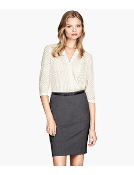 pin-tuck-blouse by h&m