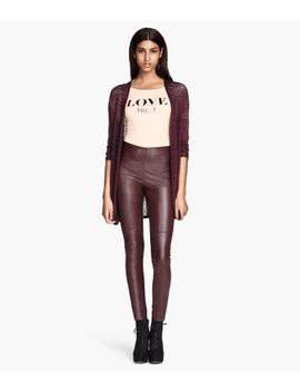 imitation-leather-pants by h&m