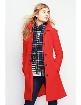 womens-petite-boiled-wool-walker-coat by lands-end