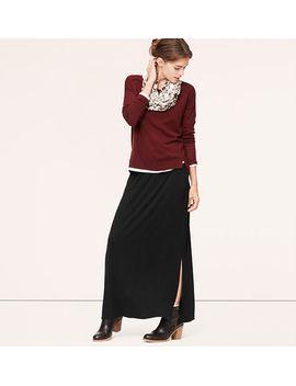 pocket-maxi-skirt by loft