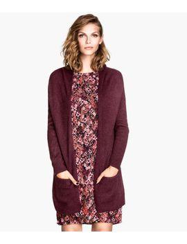 wool-blend-cardigan by h&m