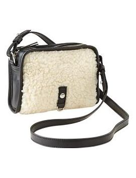 sherpa-crossbody-bag by gap