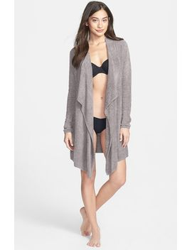 bamboo-chic-drape-front-cardigan by barefoot-dreams®
