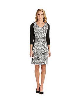 antonio-melani-valda-snake-print-dress by generic