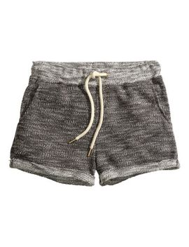 sweatpant-shorts by h&m