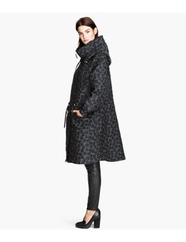 textured-weave-parka by h&m