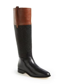 brennan-woven-shaft-riding-boot by cole-haan