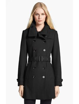 daylesmoore-wool-blend-trench-coat by burberry-brit