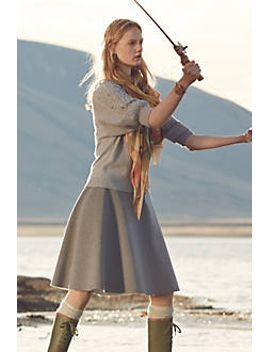 neoprene-flare-skirt by hd-in-paris