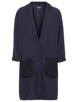silky-panel-duster-jacket by topshop