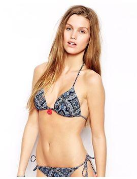 oysho-paisley-triangle-bikini-top-with-tassel by oysho