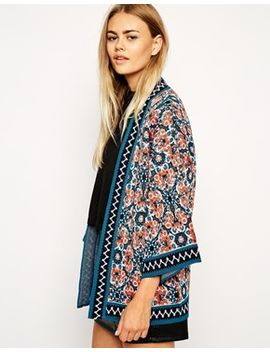 asos-floral-cardigan-with-kimono-sleeve by asos-collection