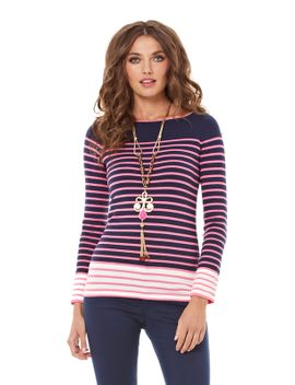 maria-boatneck-striped-sweater by lilly-pulitzer