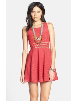 daisy-lace-fit-&-flare-dress by free-people
