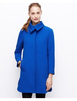 funnel-neck-coat by ann-taylor