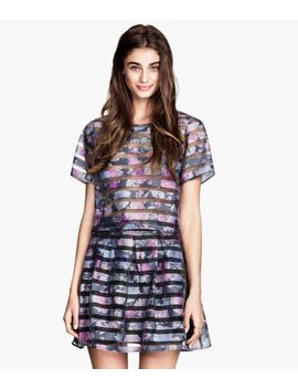patterned-organza-blouse by h&m