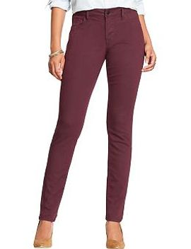 womens-the-rockstar-mid-rise-skinny-pop-color-jeans by old-navy