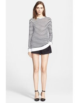 stripe-jersey-top by t-by-alexander-wang