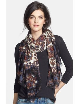printed-damask-scarf by tory-burch