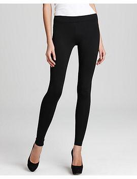 ponte-scrunch-ankle-leggings by vince