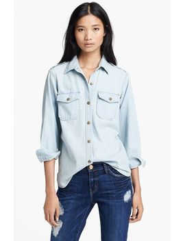 the-perfect-button-front-denim-shirt by current_elliott