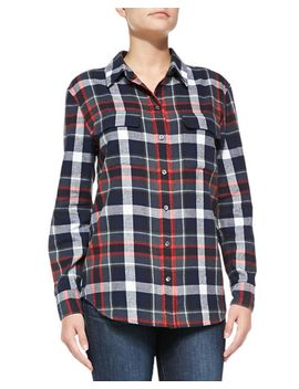 signature-plaid-flannel-shirt by equipment