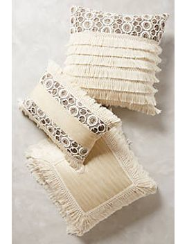fringed-ivory-pillow by anthropologie