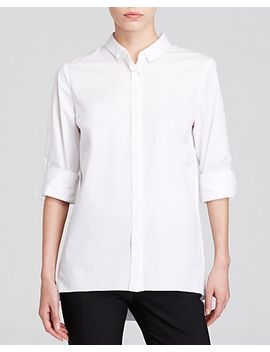 elie-tahari-helena-zip-back-shirt by bloomingdales