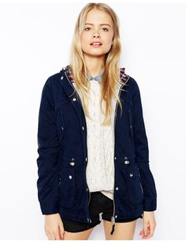 asos-jacket-with-popper-detail-and-jersey-lining by asos-collection