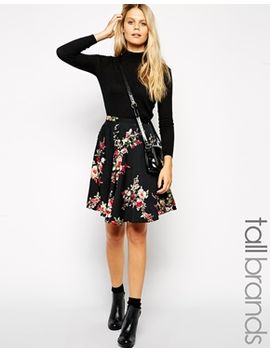 new-look-tall-floral-print-ballerina-skirt by new-look-tall