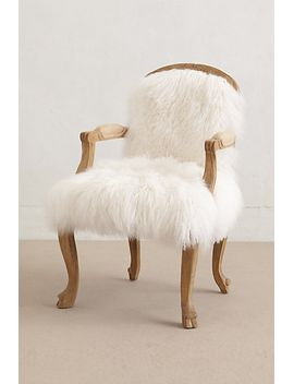 luxe-fur-occasional-chair by anthropologie