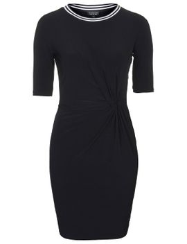 knot-twist-bodycon-dress by topshop