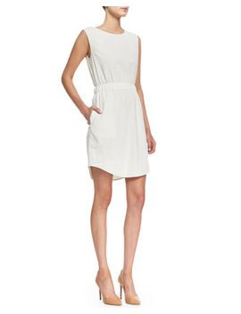 crunch-sleeveless-easy-waist-dress by theory