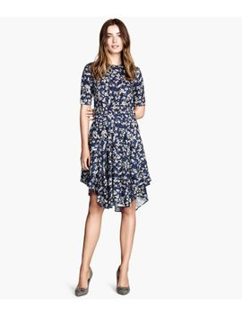 patterned-dress by h&m