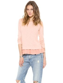 ruffled-sweatshirt by clu