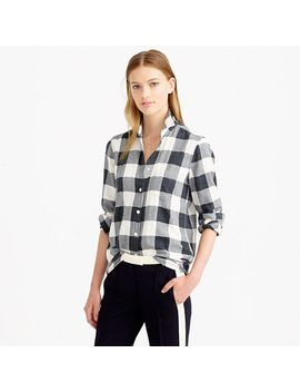 flannel-shirt-in-buffalo-check by jcrew