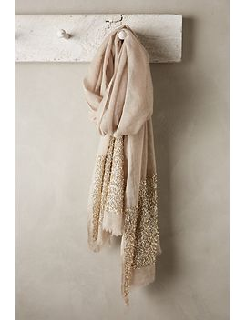 glimmered-wool-silk-scarf by anthropologie