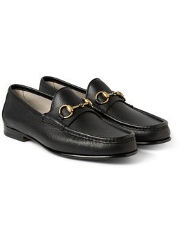 horsebit-full-grain-leather-loafers by gucci