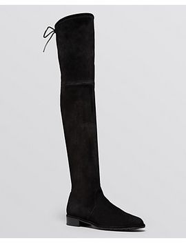 womens-lowland-stretch-suede-over-the-knee-boots by stuart-weitzman