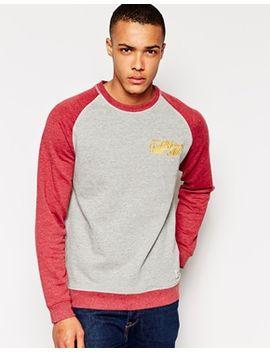 tshirt-with-contrast-raglan-sleeves by jack-&-jones