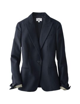 women-idlf-tailored-jacket by uniqlo