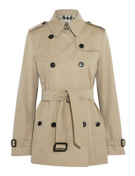 short-cotton-twill-trench-coat by burberry